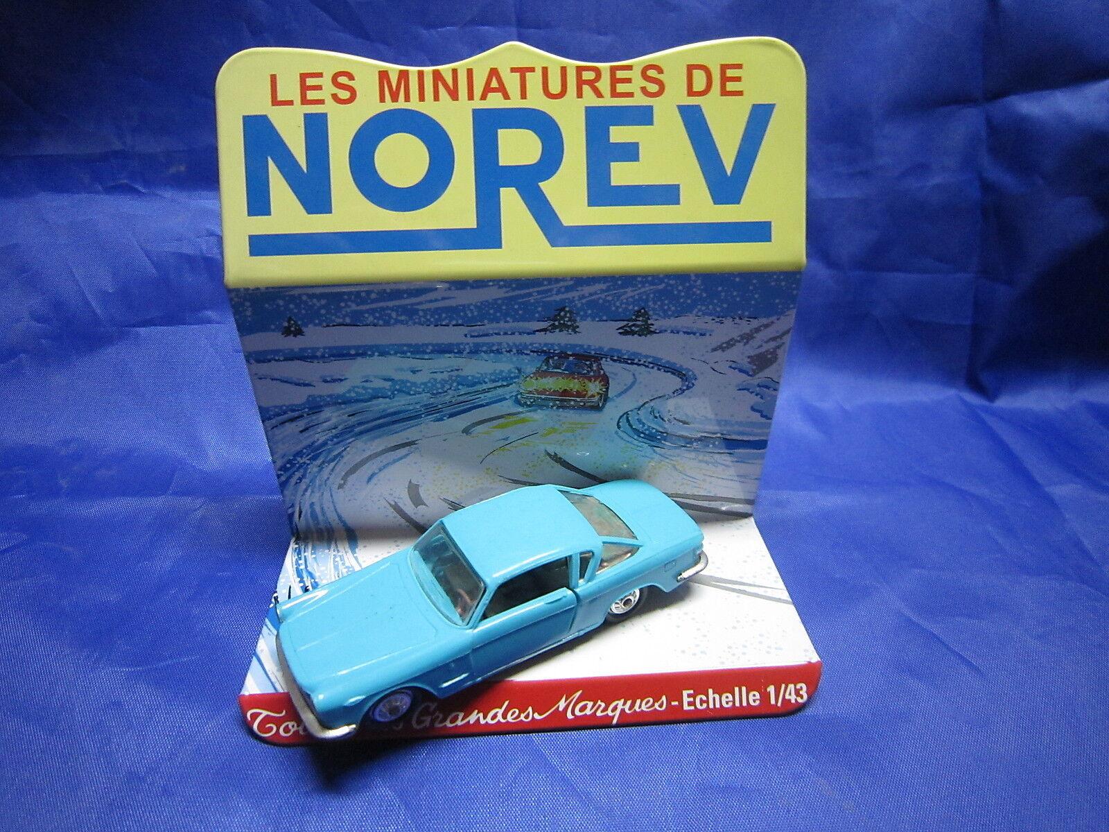 DV6280 NOREV FIAT COUPE 2300 PLASTIQUE blueE Ref 80 1 43 TBE