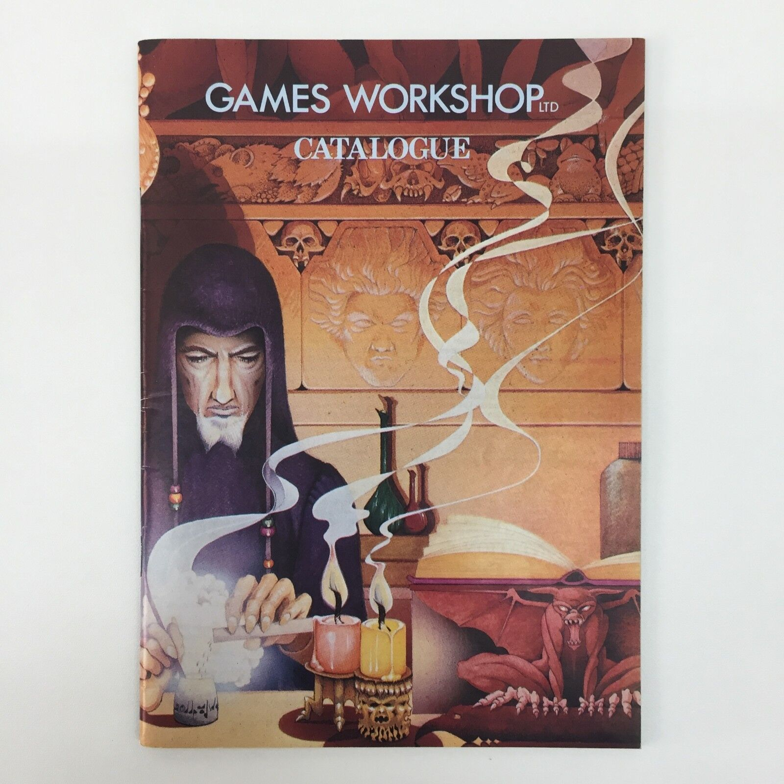 GAMES WORKSHOP LTD CATALOGUE VINTAGE RARE TSR D&D CITADEL WHITE DWARF (1981)