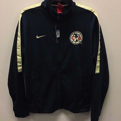 092a6d3aadb Men's Nike Club America Authentic Jacket Armory Navy 2xl. Nike Club América  Official Navy Franchise Soccer Jacket