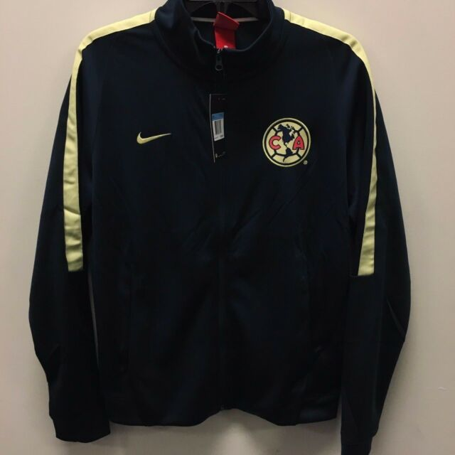outlet store 55bc1 80b36 Nike Club América Official Navy Franchise Soccer Jacket