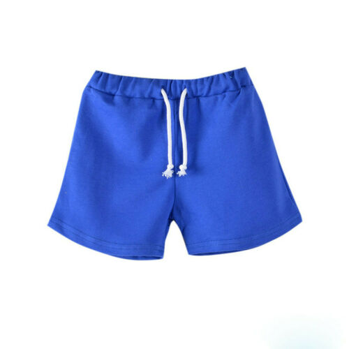 Toddler child Baby Boy Girl Candy Solid Fashion Short Pants Everyday Clothes UK