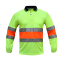 HI-VIS-Work-Polo-SHIRT-BIO-MOTION-DAY-NIGHT-NEW-BREATH-TAPE-SAFETY-LONG-SLEEVE thumbnail 5