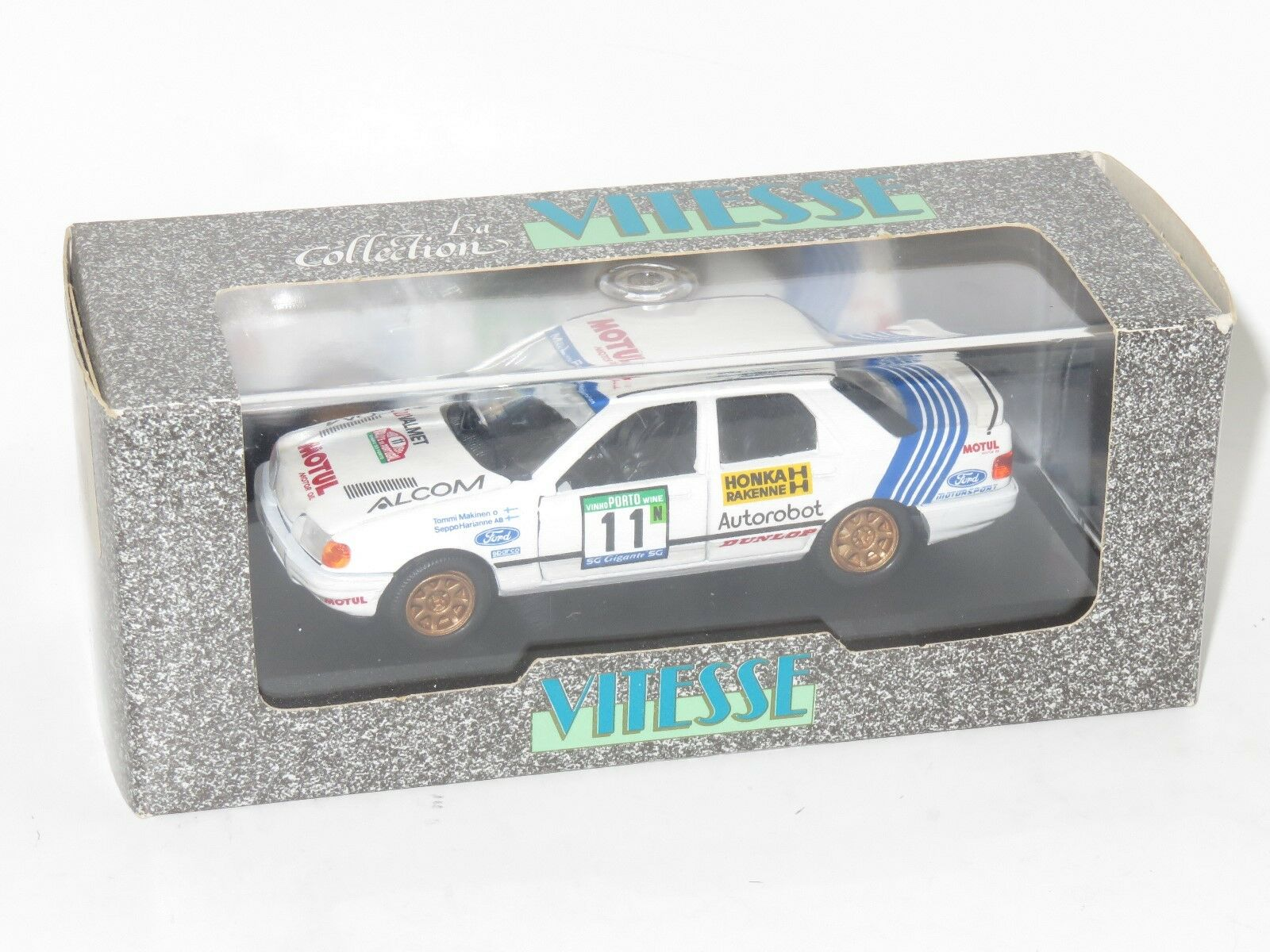 1 43 Ford Sierra Sapphire Cosworth 4x4 ALCOM Rallye Portugal 1991 T. Makinen