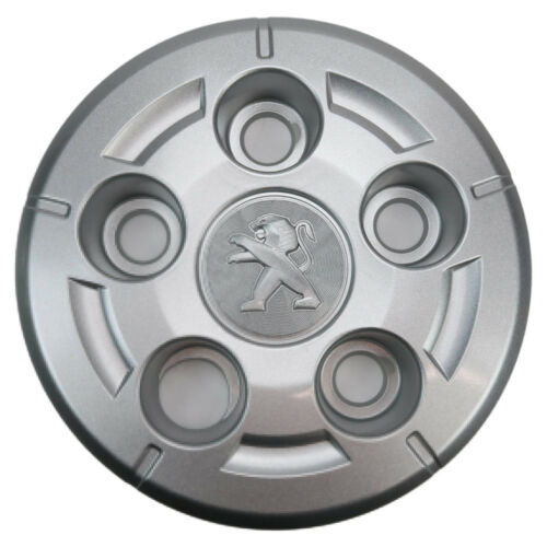 "4 Genuine Peugeot Boxer 16/"" Wheel Trim Hub centre cap Nut covers 2006 to now"