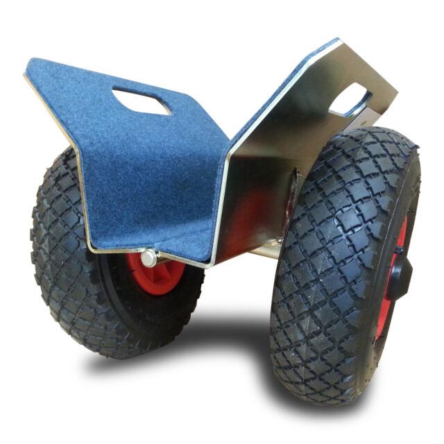 Transportgestell Transportwagen Plattenroller mit Klemmbacken Klemmroller Glas