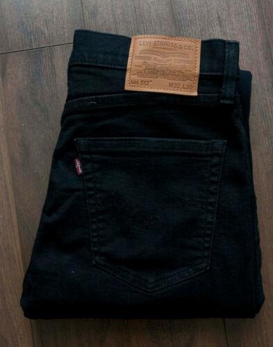Levis Jeans 512 Big E Distressed Size 32x28 *F0822