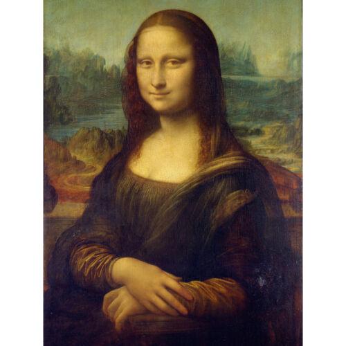 Da Vinci Mona Lisa Large Canvas Wall Art Print