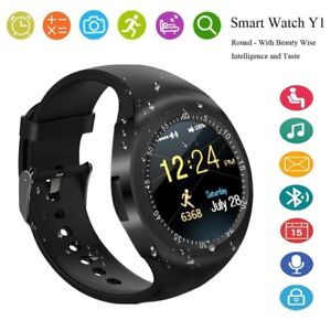 SMARTWATCH ANDROID IOS Y1 BLUETOOTH OROLOGIO CON SIM E SLOT MICRO SD SMART WATCH