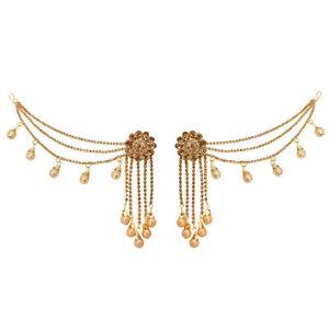 Jwellmart Indian Wedding Chain Bollywood Bahubali Jhumka Jhumki