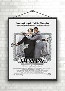 Trading-Places-Vintage-Classic-Film-Poster-Kunstdruck-a0-a1-a2-a3-a4-Maxi