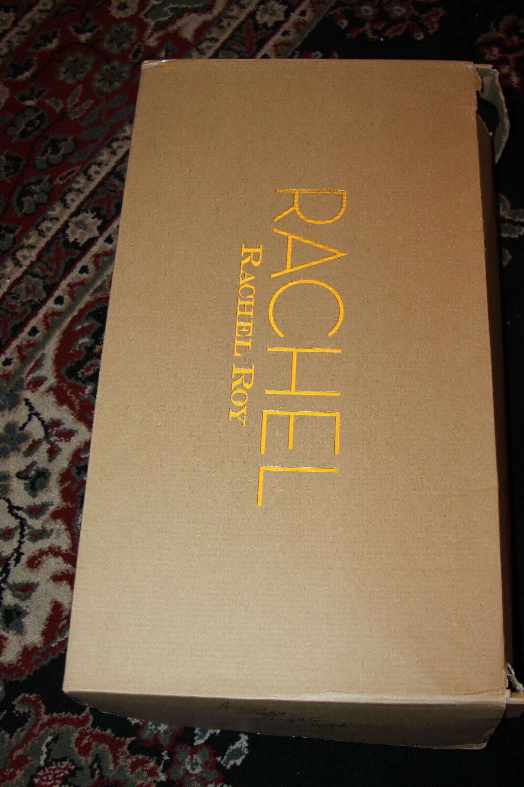 RACHEL ROY RACHEL ROSMERI Stiefel TALL SHAFT BROWN LEATHER Stiefel ROSMERI SIZE 6.5M aff663