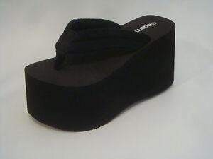 da920b2a906 Image is loading Platform-Flip-Flop-thong-sandal-Bostek-Shoes-style-