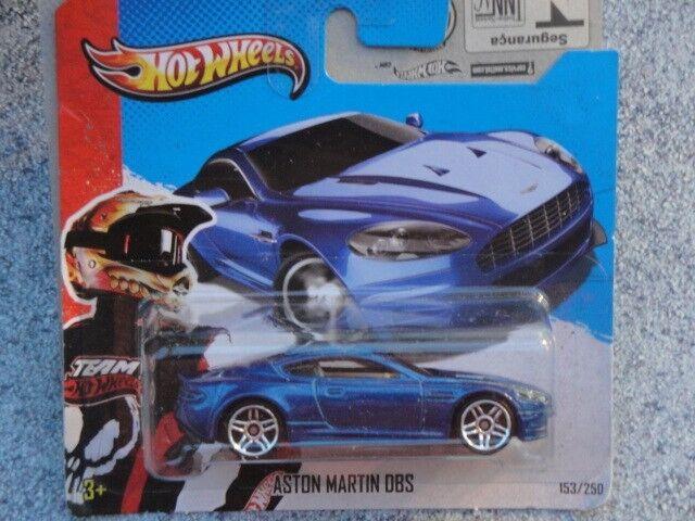 Blue Version 2013 Hot Wheels HW SHOWROOM Aston Martin DBS 153//250