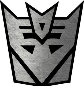Transformers Decepticon Logo Vinyl Die Cut Sticker Decal *Multiple options*