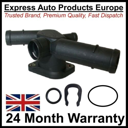 Thermostat Housing Water Coolant Flange /& clip VW 06A121133D 06A121132