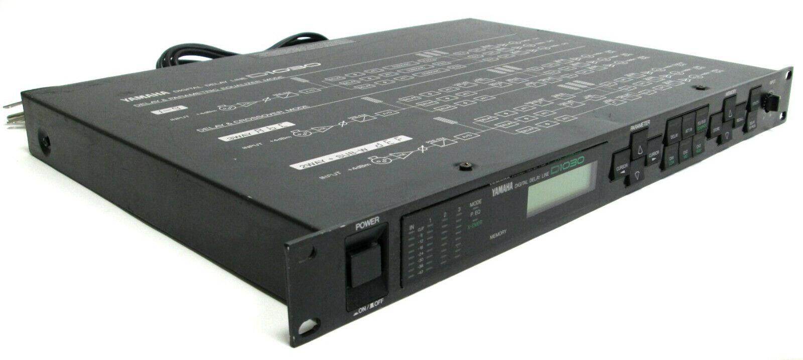Yamaha D1030 Digital Delay Line On-Board Equalizer D 1030