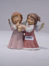+# A004867 Goebel Archiv Muster Limpke Nina & Marco, zwei Engel mit Flöte