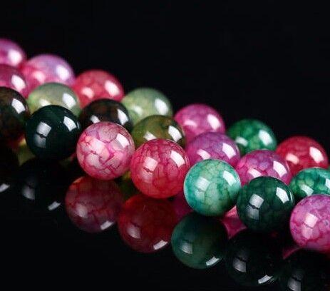 12 Tourmaline turmalina joyas piedra perlas 10mm Mix semipreciosa piedra bola g180