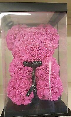 2019 Nuovo Stile Pink Teddy Bear Rose Fidanzata Pasqua Mamma Regalo Fiori Regalo Di Compleanno-mostra Il Titolo Originale Quell Summer Thirst