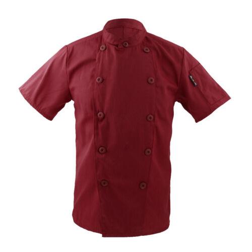 herren damen Kochjacke kochbekleidung Bäckerjacke Bäcker Imbiss .
