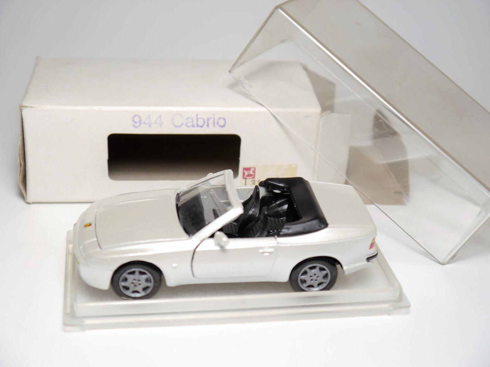 Porsche 944 Cabriolet Convertible nacre blanc Pearl Effect NZG 323 1 43 en Boîte