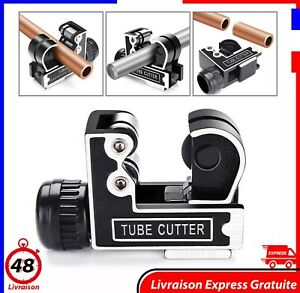 Coupe Tube Mini Machine de Découpe Tubes Tuyaux Multiusage Plomberie  Travaux