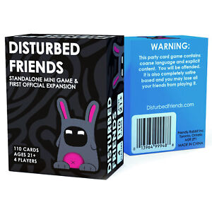 Disturbed-Friends-First-Expansion-Mini-Game-All-New-Cards-Fast-Shiping