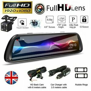 10-034-LCD-Car-DVR-Touch-Dash-Cam-Rearview-Mirror-1080P-FHD-Camera-Video-Recorder