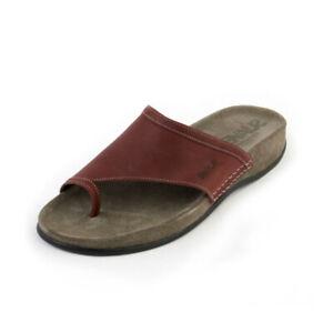 Suave-Fiona-Senhoras-Vinho-sandalias-casual-tamanho-6-Europa-39