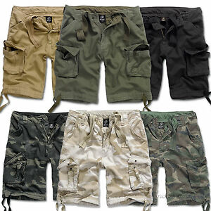 MENS-CASUAL-MILITARY-STYLE-ARMY-CAMO-COMBAT-CARGO-SHORTS-BRANDIT-URBAN-LEGEND