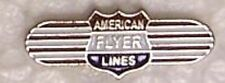 Hat Tie Tac Push Lapel Pin American Flyer Lines NEW