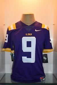 Nike Men's LSU Tigers Joe Burrow #9 Limited Football Jersey Purple ...