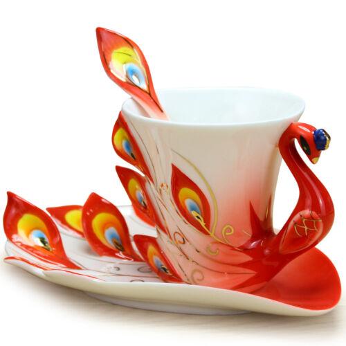 NOUVEAUTÉ Beauty Peacock Tasse à Café Belle collection de tasse à thé tasses Home Decor