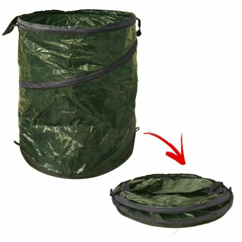 Large Heavy Duty Pop Up Garden Bin Waste Rubbish Leaves Sack Bag Strong Handles