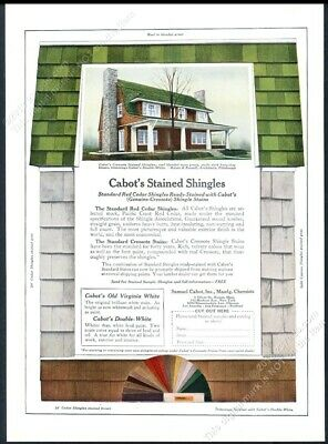 1925 Cabot S Stained Shingle Roofing Russel Amp Rutan House