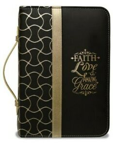 Faith-Bible-Cover-Black-and-Gold-Large