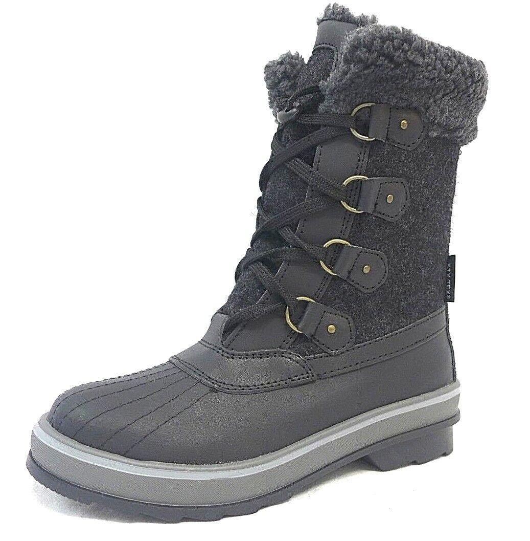 Señora invierno zapatos 41 negro tamaño 37 39 41 41 41 zapatos botas de 25873d