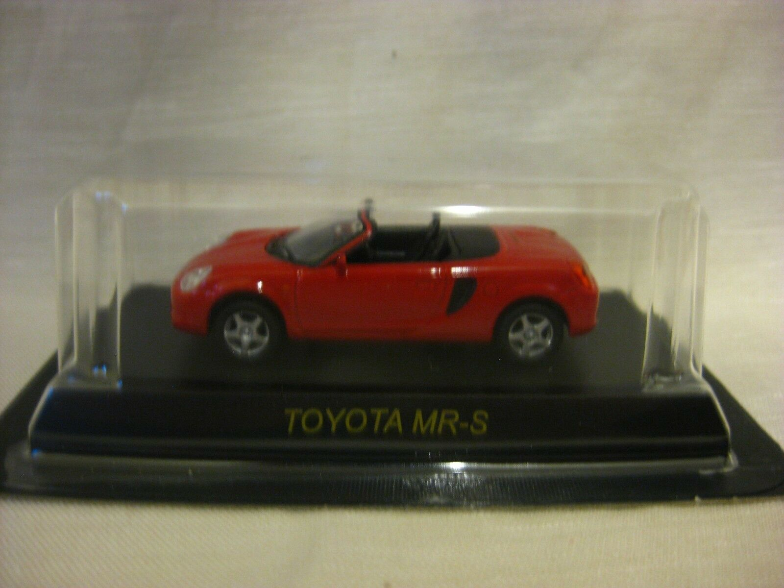 1 64 Kyosho Toyota MR-S Red Diecast Model Car