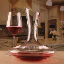 2000ml Elegant Crystal Glass Wine Decanter Red Carafe Aerator Pourer Container