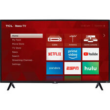 TCL 40-inch Roku Smart LED HDTV 1080p  w/ 3 x HDMI x1 USB  40S325