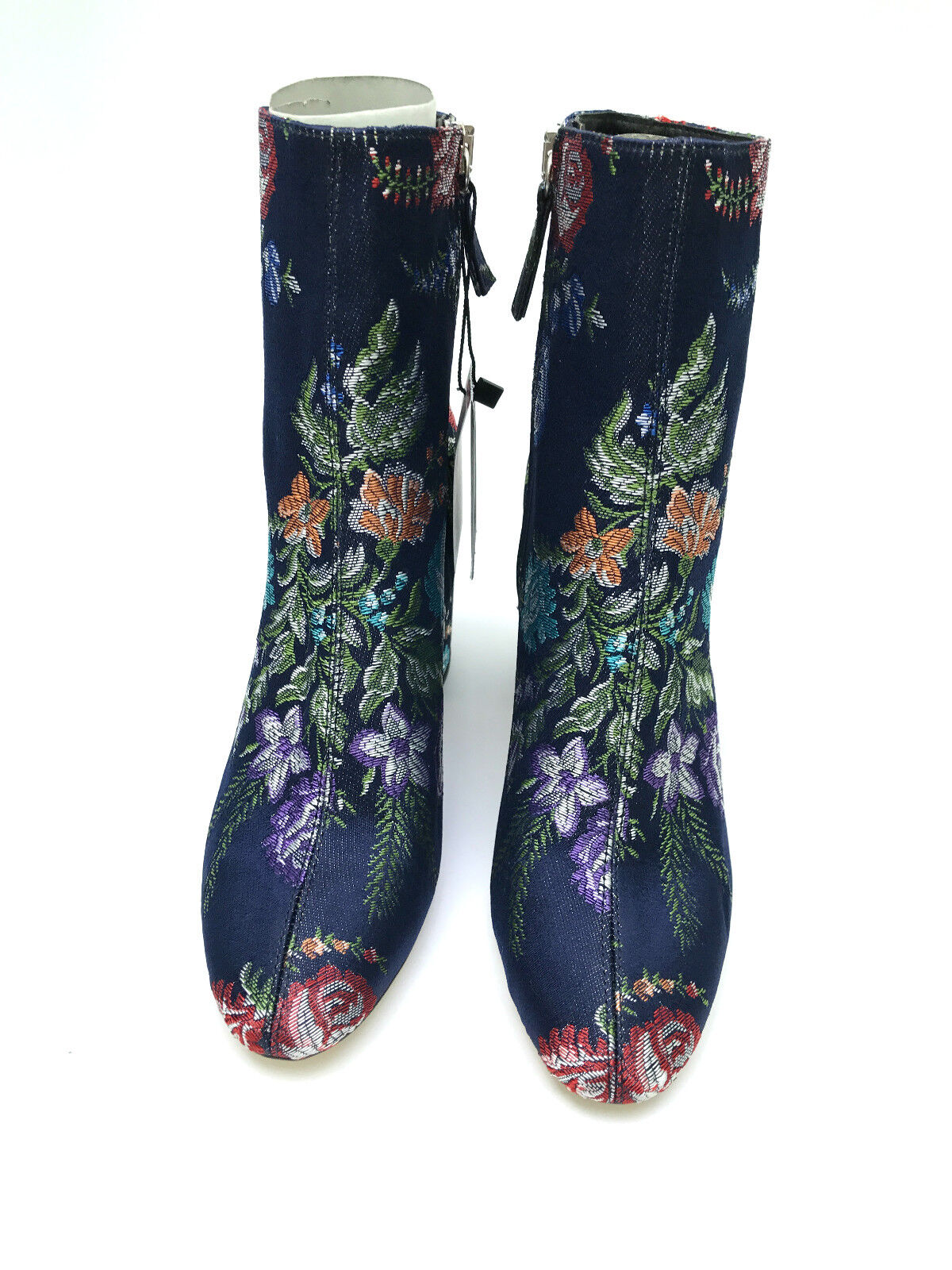 Zara Ref Bestickt Ankle Stiefel Größe UK4 EUE37 US6.5 Neu Ref Zara 2107 201 ba22bc
