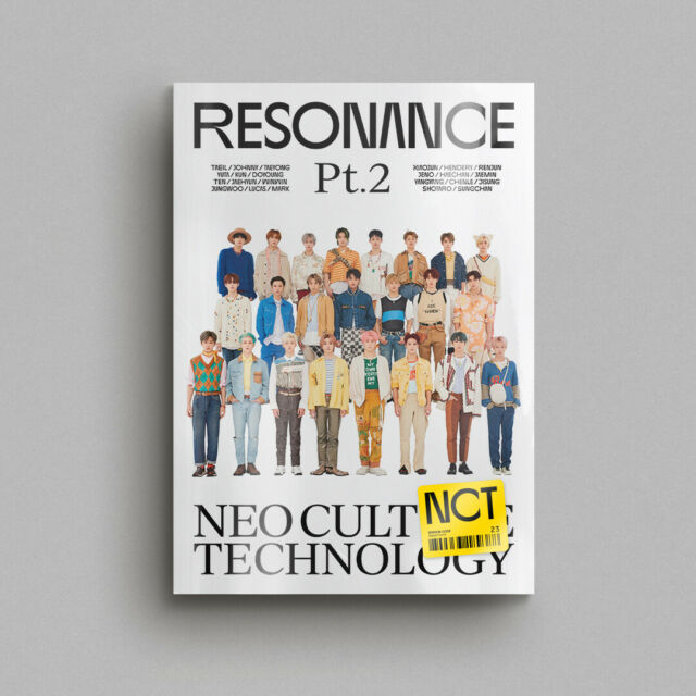 NCT - The 2nd Album RESONANCE Pt.2 [Departure ver.] CD+On Pack Poster+Free Gift
