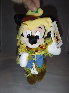 Disney-Mickey-Mouse-Scarecrow-Bean-Bag-Plush
