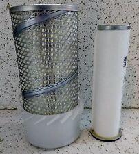 New Holland Skid Steer inner outer air filter set L565 LS140 LS150 LS160 LS170
