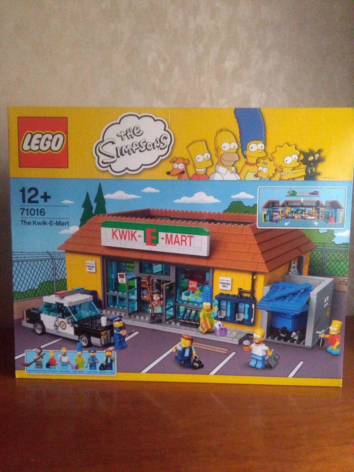 prezzo all'ingrosso e qualità affidabile Lego Lego Lego Minimarket Simpson NUOVO JET MARKET - THE KWIK-E-MART  71016  una marca di lusso