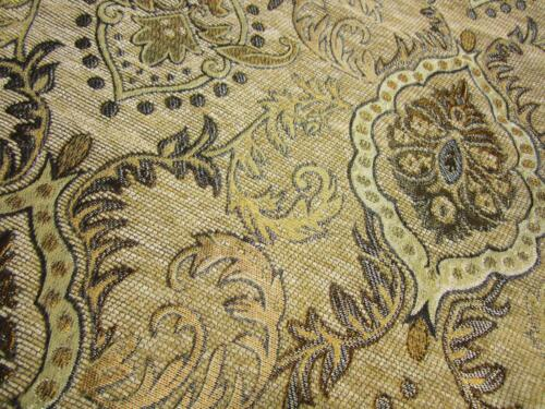 Pillow Cover*Damask Chenille Sofa Seat Pad Cushion Case Custom Size*Wk4
