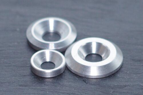Aluminium Countersunk Washer Fairing M4 M5 M6 CNC Machining