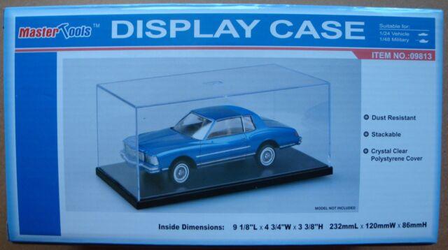 TRUMPETER® 09813 Display Case Acryl Vitrine 232 x 120 x 86mm