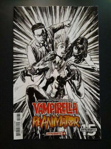 VAMPIRELLA REANIMATOR #4 1:20 Desjardins Variant Dynamite Comic Book NM 2019