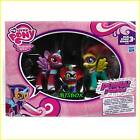 My Little Pony Power Ponies 3 Pony Set Twilight Sparkle Spike Fluttershy New